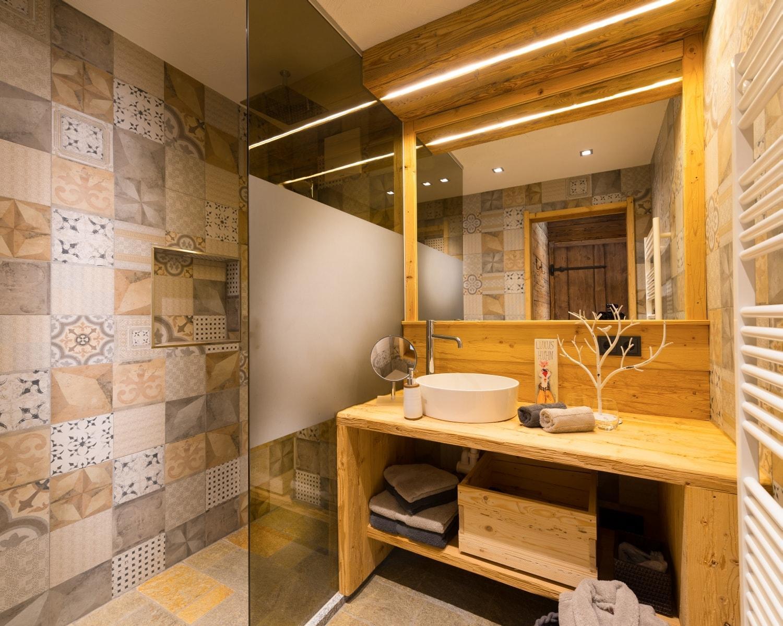 Badezimmer 1, Luxus Chalet