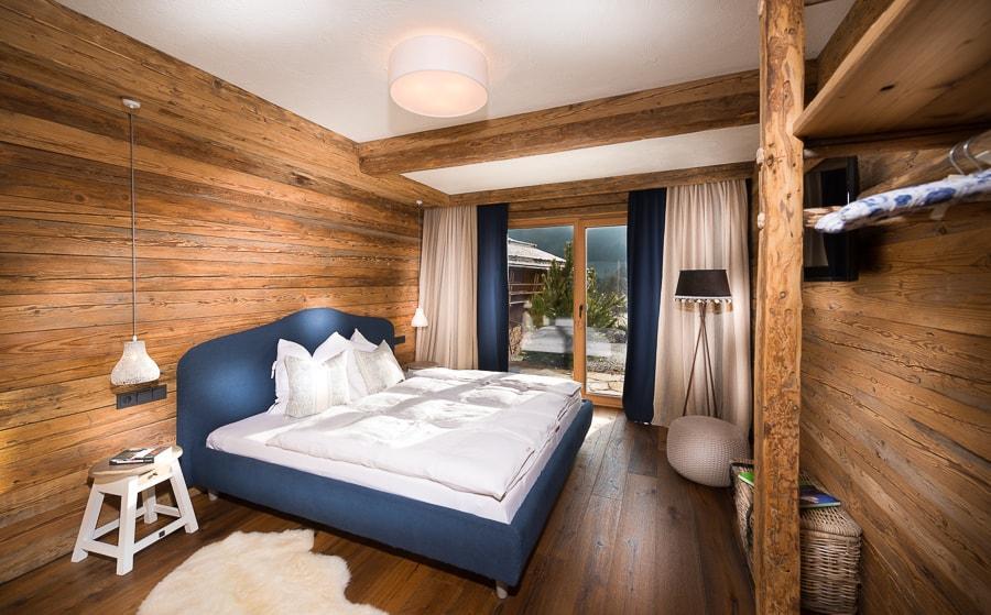 Schlafzimmer2, Die Salzburgerin, Kuschelhütte 5 Herzen