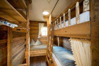 Kinderzimmer mit Stockbett, Chalet