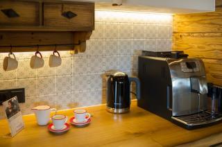 Kaffeemaschine & eigener Kaffee, Luxus Chalet