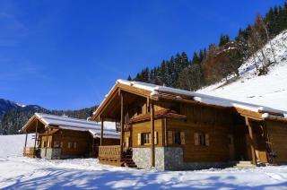 Kuschelhütten im Winter