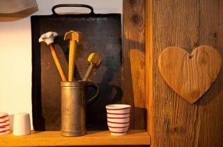 Kuschelecke in der Kuschelhütte