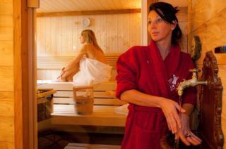 Massage im eigene Relaxbereich