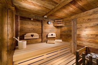Sauna im Alm SPA, Luxus Chalet