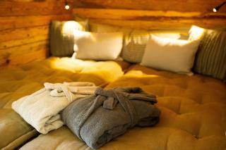 Relaxbereich im Alm SPA, Luxus Chalet