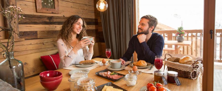 Frühstück für zwei, Chalet für 2 Personen, Proneben Gut