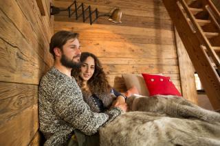 Luxus Chalets für Zwei, Kuschelhütten Proneben Gut