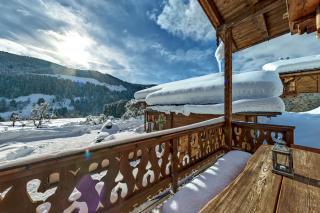 Proneben Gut Kuschelhütte 4 Herzen Balkon 2