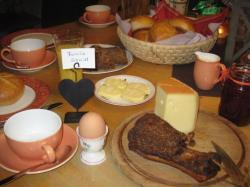 Frühstück am Proneben Gut