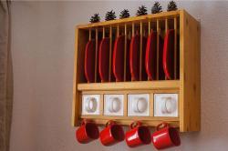Detail Küche - Ferienwohnung Apfelbaum