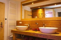 Badezimmer - Ferienwohnung Apfelbaum
