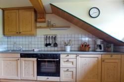 Küche Ferienwohnung Eseltraum