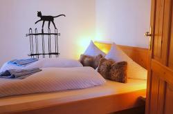 Schlafzimmer, Ferienwohnung Schmetterling
