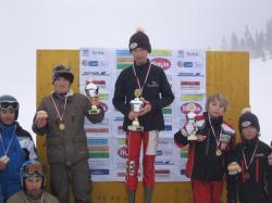 Jakob jun. 1. Platz Bubi Bradl Gedächtnis Skispringen