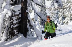 Schneeschuhwandern am Hochkeil