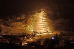 Nachtskilauf in Maria Alm