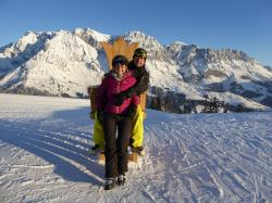 Jakob und Andrea im Winter 2015
