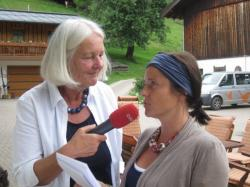 ORF-Interview mit Andrea