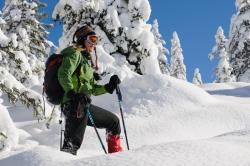 Schneeschuhwandern am Silvia am Hochkeil