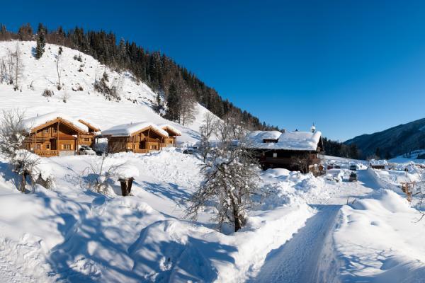 Winter am Erlebnisbauernhof & Kuschelhütten Proneben Gut